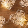 Wicker Heart - 10 Lamps